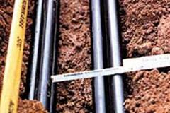 Kabelrohrpflugverlegung